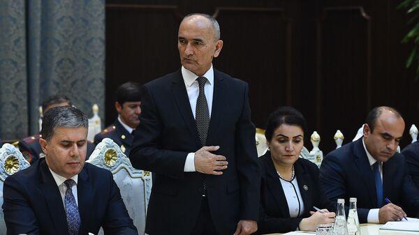 Министр образования и науки Таджикистана Имомзода Мухаммадюсуф Сайдали - Sputnik Таджикистан