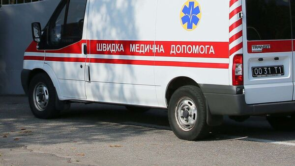 Автомобиль скорой помощи в Украине - Sputnik Таджикистан