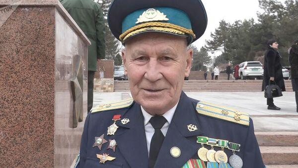 Председатель Совета ветеранов войск ПВО и ВВС Узбекистана Александр Харламов - Sputnik Таджикистан