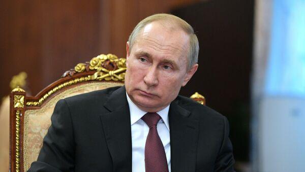 Президент России Владимир Путин провел совещание - Sputnik Таджикистан