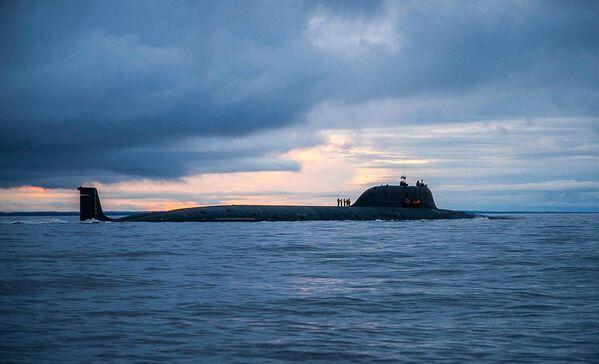 Атомная подводная лодка Северного флота «Северодвинск» - Sputnik Таджикистан