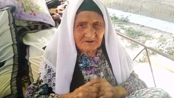 Последнее интервью с долгожительницей из Таджикистана Фатимой Мирзакуловой - Sputnik Тоҷикистон