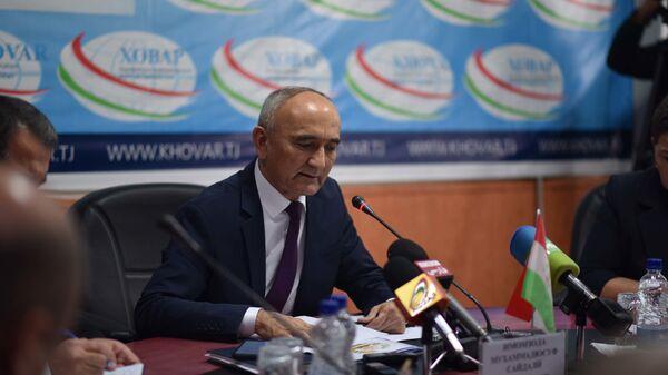 Министр образования РТ Имомзода Мухаммадюсуф - Sputnik Тоҷикистон