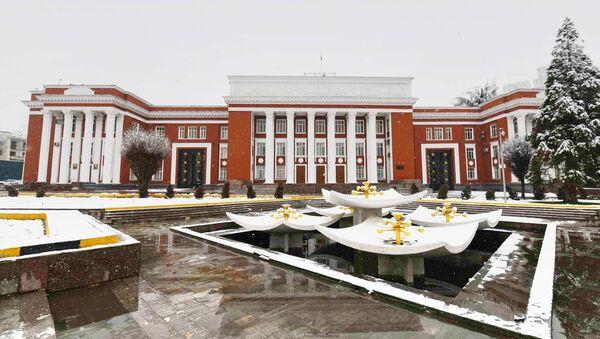 Здание парламента Республики Таджикистан - Sputnik Таджикистан