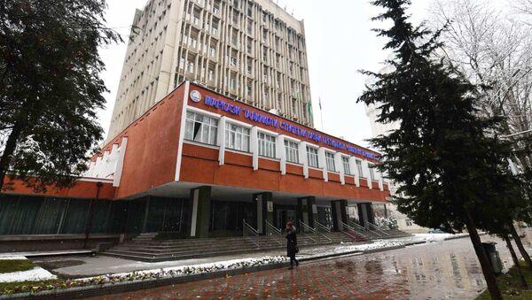Здание центра стратегический исследований ЦСИ - Sputnik Тоҷикистон
