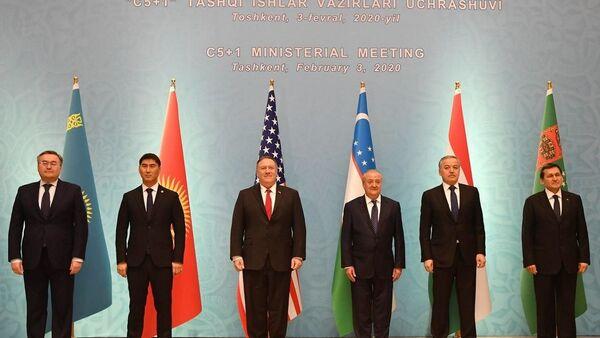 Майкл Помпео встретился с руководителями МИД стран ЦА - Sputnik Таджикистан