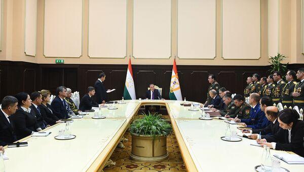 Заседание правительства Таджикистана - Sputnik Таджикистан