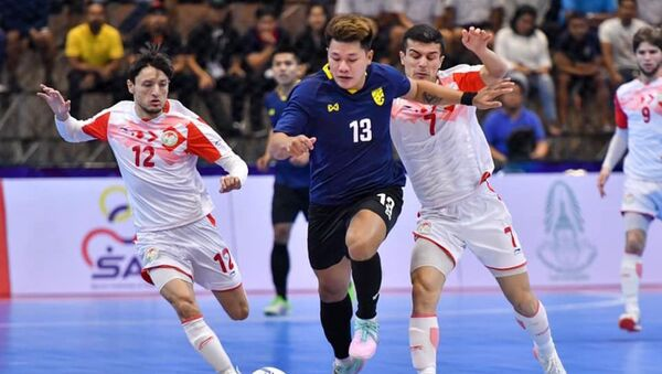 Таджикские футзалисты на Международном турнире SAT International Futsal Championship 2020 в Таиланде - Sputnik Таджикистан