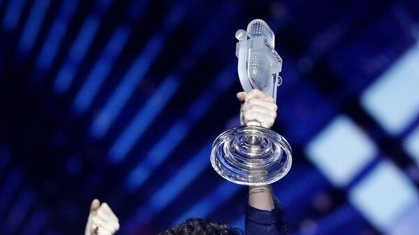 Микрофон с конкурса Евровидение - Sputnik Таджикистан