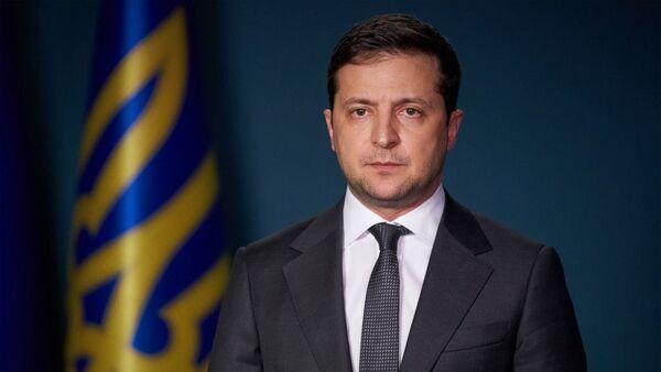 Президент Украины Владимир Зеленский - Sputnik Таджикистан