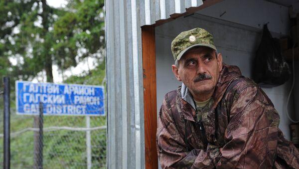 Пограничный пункт Ингур в Гальском районе Абхазии - Sputnik Таджикистан