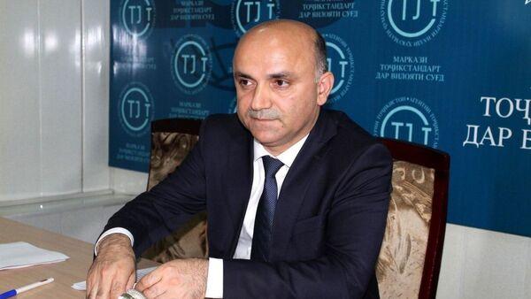 Мухаммади Давлатов, Руководитель Агентства Таджикстандарт в Согдийской области - Sputnik Тоҷикистон