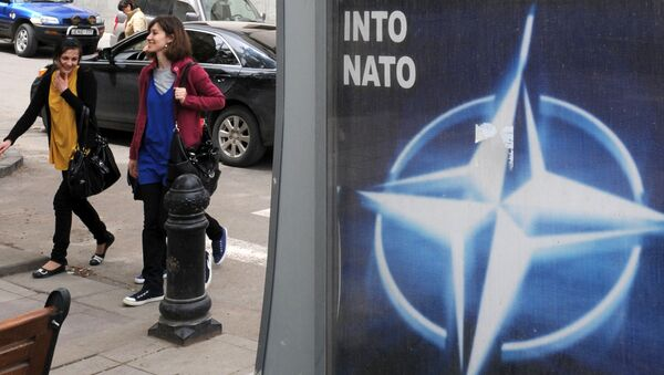 Нишонаи НАТО, акс аз бойгонӣ - Sputnik Тоҷикистон