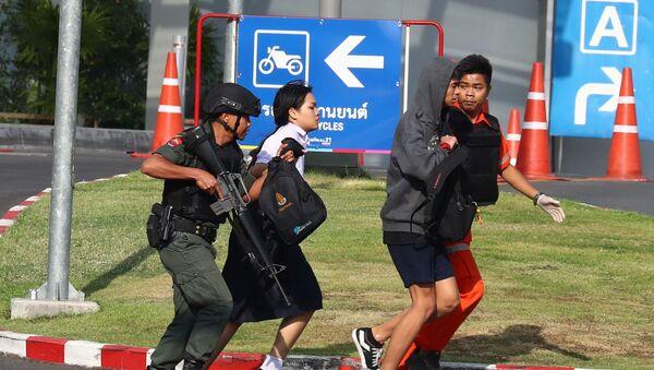 Стрельба в Таиланде - Sputnik Таджикистан