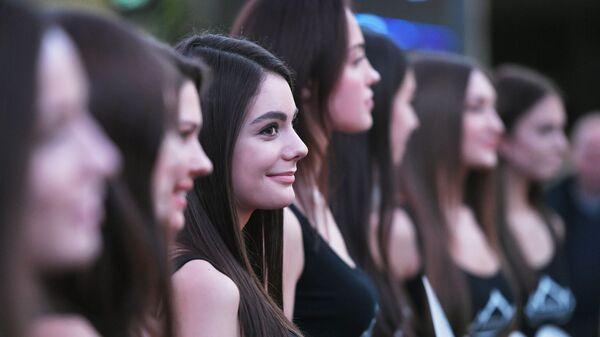 Открытый кастинг конкурса Мисс Россия - Sputnik Таджикистан