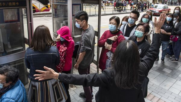 Ситуация в Гонконге в связи с коронавирусом - Sputnik Тоҷикистон