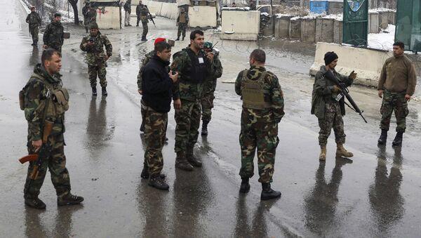 Афганские военные, архивное фото - Sputnik Таджикистан