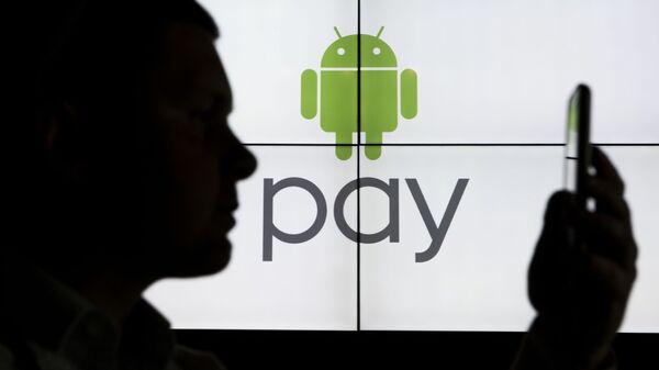 Презентация нового сервиса Google Android Pay в России - Sputnik Тоҷикистон