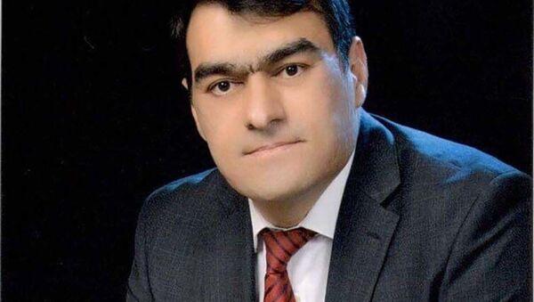Проректор по международным связям Российско-Таджикского (славянского) университета  Умед Мансуров - Sputnik Таджикистан