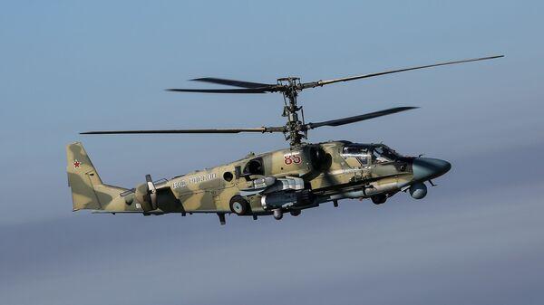 Боевой разведывательно-ударный вертолет Ка-52 Аллигатор  - Sputnik Тоҷикистон