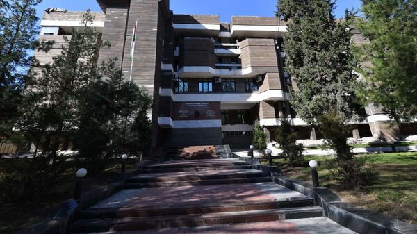 Здание министерства внутренних дел Таджикистана - Sputnik Тоҷикистон
