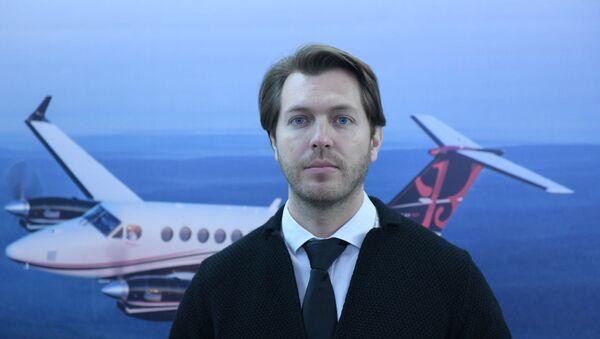Представитель компании Eastuninon (Busines Aviation) Артем Акимов - Sputnik Таджикистан