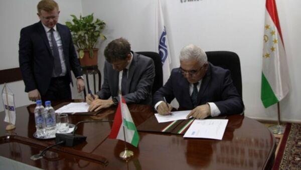АКН и ОБСЕ подписывают протокол о сотрудничестве - Sputnik Тоҷикистон
