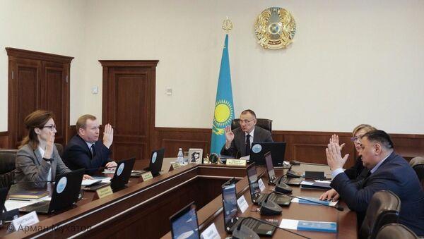 В ЦИК РК утвердили список наблюдателей, направляемых на парламентские выборы Таджикистана - Sputnik Таджикистан