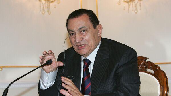 Бывший президент Египта Хосни Мубарак - Sputnik Таджикистан