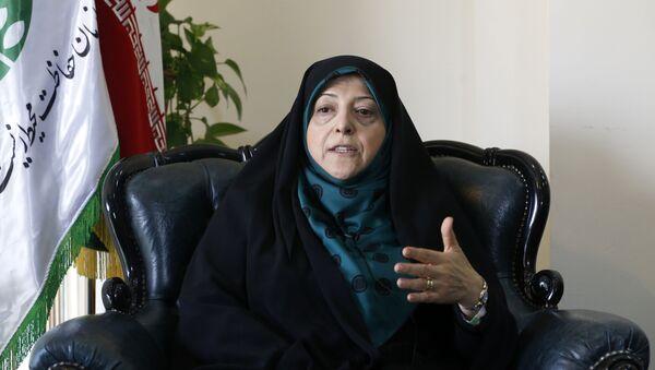 Вице-президент Ирана по делам женщин и семьи Масуме Эбтекар  - Sputnik Таджикистан