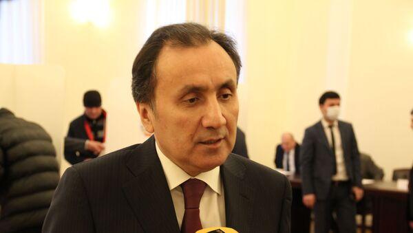 Посол Таджикистана в Москве Имомуддин Сатторов  - Sputnik Тоҷикистон