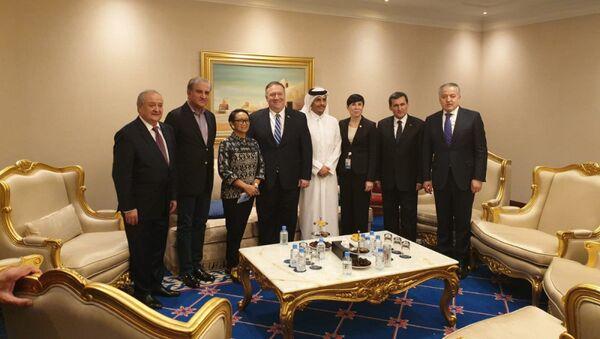 Сироджиддин Мухриддин принял участие в церемонии подписания соглашения США и талибов - Sputnik Таджикистан