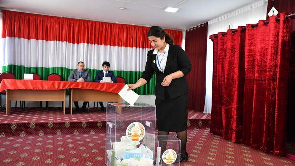 Парламентские выборы в Таджикистане - Sputnik Таджикистан