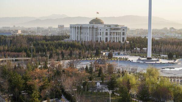 Вид на Дворец президента в Душанбе - Sputnik Таджикистан