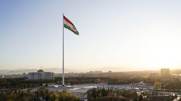 Вид на Дворец президента в Душанбе - Sputnik Тоҷикистон