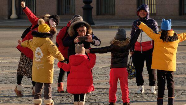 Иностранные туристы в России - Sputnik Таджикистан