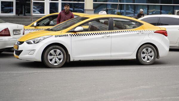 Такси в Душанбе - Sputnik Тоҷикистон