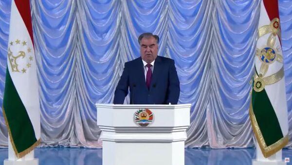 Выступление Эмомали Рахмона - Sputnik Тоҷикистон