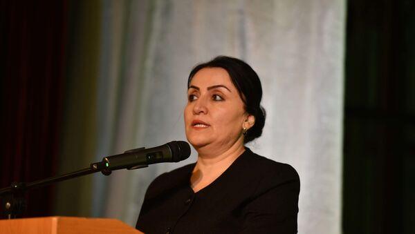 Министр культуры Таджикистана Зульфия Давлатзода - Sputnik Тоҷикистон