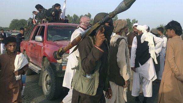 Боевики движения Талибан - Sputnik Тоҷикистон