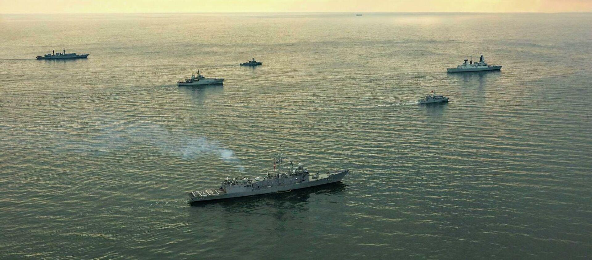Корабли НАТО в Черном море. Архивное фото - Sputnik Таджикистан, 1920, 19.12.2020