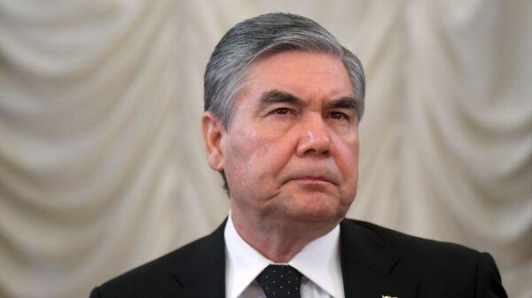 Президент Туркменистана Гурбангулы Бердымухамедов  - Sputnik Тоҷикистон