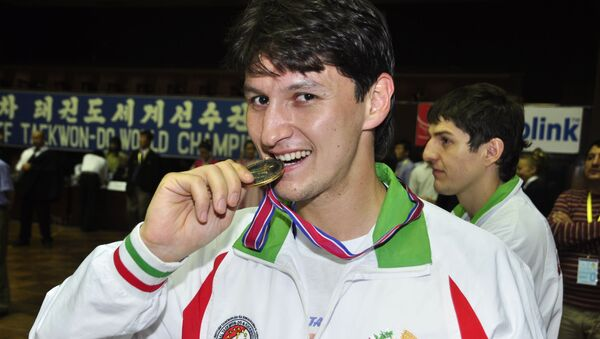 Заслуженный мастер спорта Республики Таджикистан Далер Тюряев - Sputnik Таджикистан