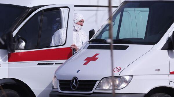 Больница в Коммунарке для пациентов с подозрением на коронавирус  - Sputnik Таджикистан