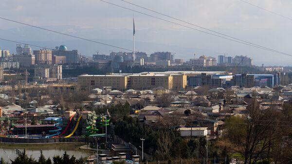 Вид на город Душанбе, 2020 год, архивное фото - Sputnik Тоҷикистон