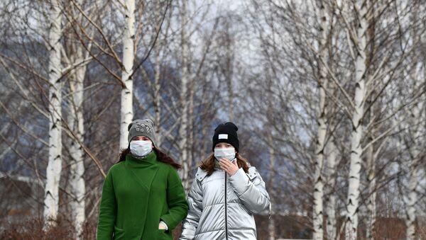 Ситуация в Москве в связи с коронавирусом - Sputnik Таджикистан