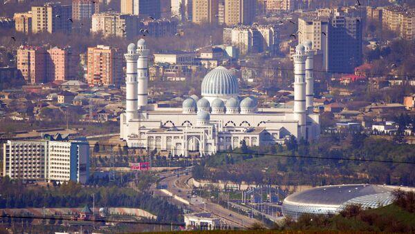 Новая мечеть в Душанбе - Sputnik Таджикистан