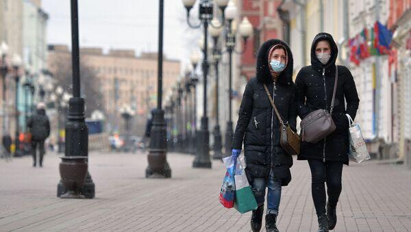 В Москве введен режим самоизоляции для всех жителей - Sputnik Тоҷикистон