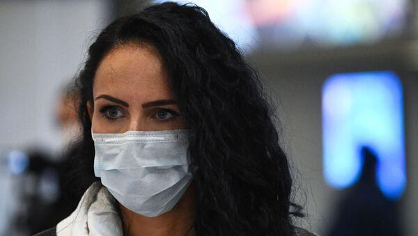 Ситуация в связи с коронавирусом в аэропорту - Sputnik Тоҷикистон