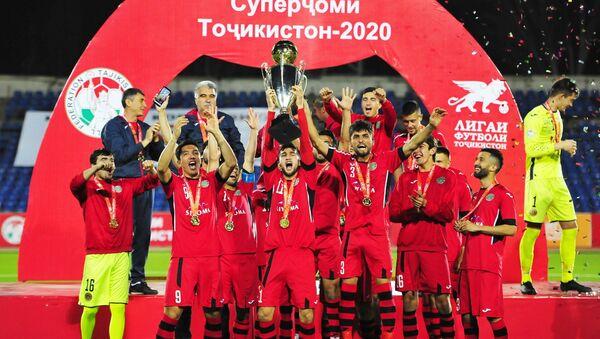 Душанбинский футбольный клуб Истиклол в финале суперкубка  - Sputnik Таджикистан